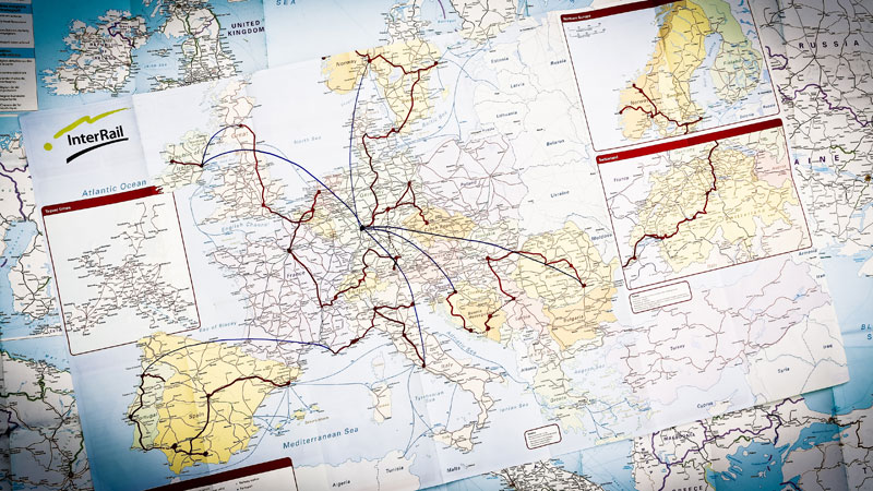 2014 interrail map