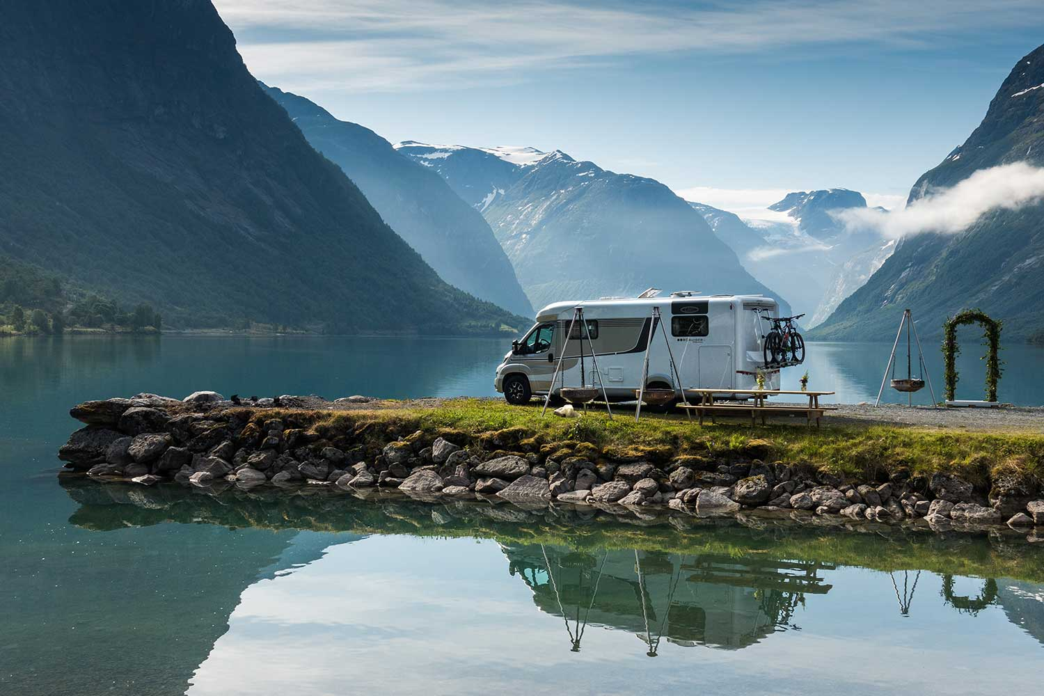 2018 07 lmc road trip norway camper camping 4